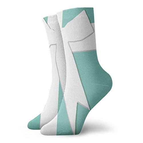 Unisex Classics Socks Sport Athletic Stockings 30cm Long Sock Gift Socks(Blue Tiffanys Inspired Turquoise Please Return Designer)