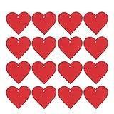 ABOOFAN 500Pcs Etiquetas de Regalo de Corazón de San Valentín Etiquetas de Precio de Amor de Papel Etiquetas de Artesanía Etiquetas de Caja de Dulces Marcador Presente Tarjeta de