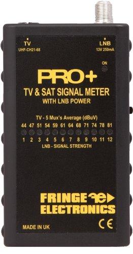FRINGE Electronics PRO+ PLUS TV & Sat Signal Meter