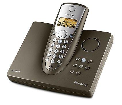 Siemens Gigaset C345 Grafiet, draadloze telefoon DECT