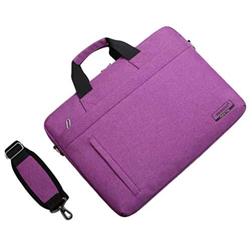 WanYangg Multifunktions Handtasche Laptoptasche Damen Wasserabweisend Laptop Business Umwandelbar Rucksack Laptophülle Messenger Bag Satchel Pink 15 inch