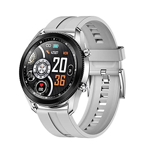 Smart Watch, 1.28'Smartwatch de Pantalla táctil, rastreadores de Fitness con Monitor de Ritmo cardíaco, rastreadores de Actividad Mira el cronómetro del podómetro, Reloj Inteligente para Hombres para