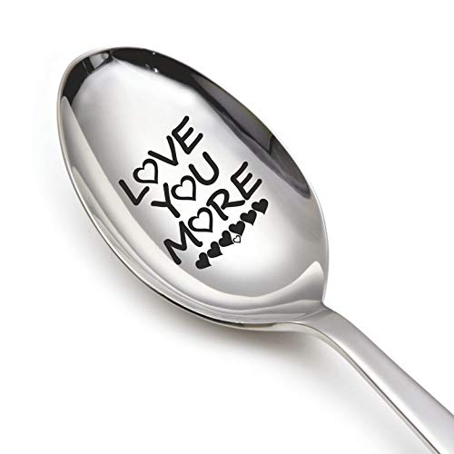 Engraved spoon (Love you more)