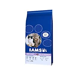 IAMS Multicat Chicken/Salmon Food for Cats 15 kg