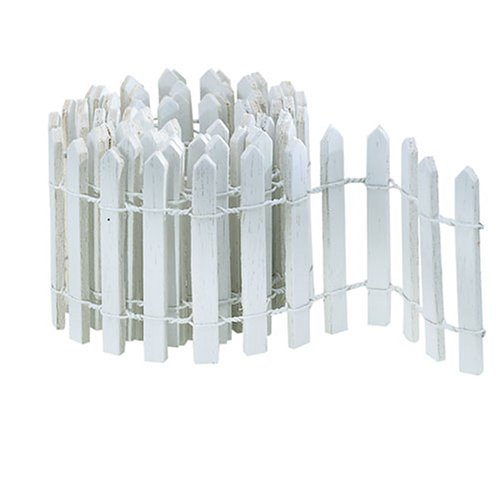 Department 56 Accessories for Village Collections Snow Fence Figurine, 36 Inch, White