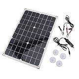 sZeao 20W Cargador De Batería Monocristalino Panel Fotovoltaico...