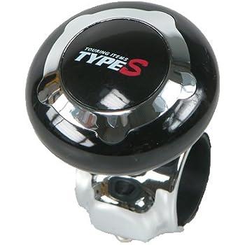 Grand General 80102 Brown Wood Plastic Steering Wheel Spinner Knob