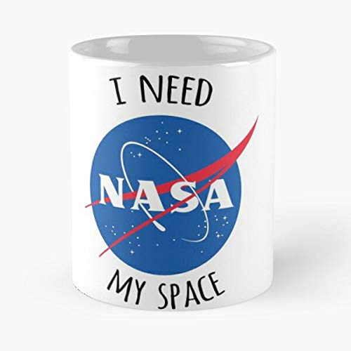 Science NASA Astronomy Hipster Indie Cool Tumblr Nerd Best Taza de café de cerámica de 315 ml Eat Food Bite John Best Taza de café de cerámica de 315 ml