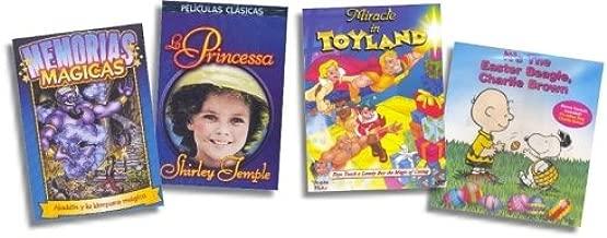 {4 DVD Children's Gift Set} (Memorias Magicas) Aladdin Y La Lampara Magica / (Peliculas Clasicas) La Princessa