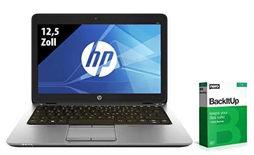 HP EliteBook 820 G3 | Notebook | 12,5 Zoll | Intel Core i7-6600U @ 2,6 GHz | 8GB RAM | 250GB SSD | FHD (1920x1080) | Webcam | Windows 10 Home (Zertifiziert und Generalüberholt)