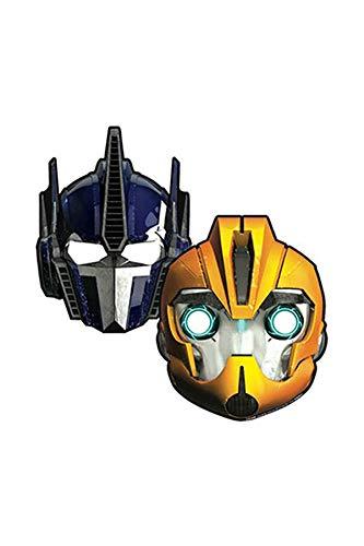 Amscan International 6Transformers Party Masken