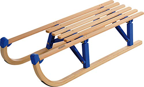 Colint Davos klapslee vouwslee houten slee 110cm rodelhout slee