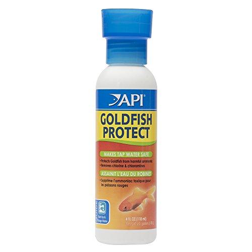 API GOLDFISH PROTECT Aquarium Water Conditioner 4-Ounce Bottle