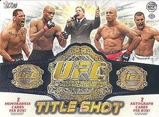 2011 topps ufc title shot