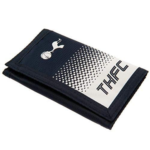 Tottenham Hotspurs Football Club THFC Navy Fade Design Polyester Wallet Fan