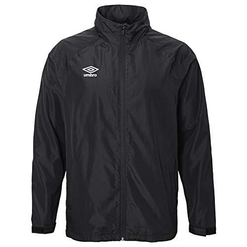 UMBRO Unisex-Erwachsene Waterproof Jacket Regenjacke, schwarz, Small