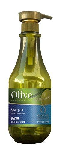 Spa Pharma Dead Sea Olive Oil Hair Shampoo For Dry & Damaged Hair 800ml