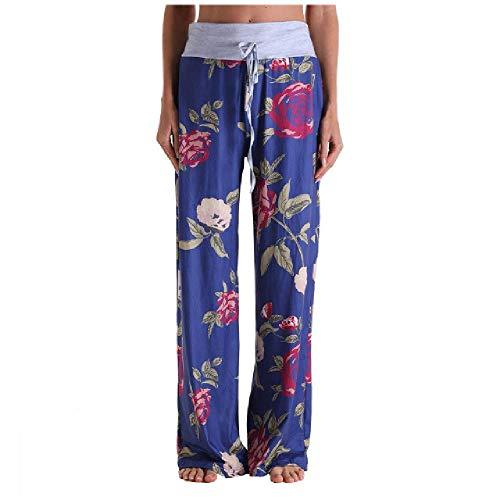 Verano suave suave transpirable para mujer pantalones señoras casual cintura alta pantalones flojos cómodo estiramiento