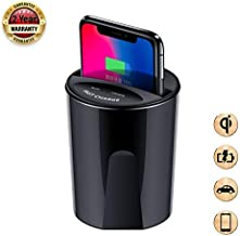 Car Wireless Charger Cup Holder qi Wireless car Charger Wireless Charger Phone Charger Fast Wireless Charging pad Stand 10W/7.5W/5w Wireless Charger car Accessories for galaxys8s9+s7s6 note8(X9)