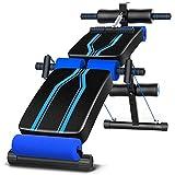 HHTD Banco de pesas ajustable para entrenamiento abdominal, banco inclinado para entrenamiento de gimnasio en casa, entrenamiento en casa