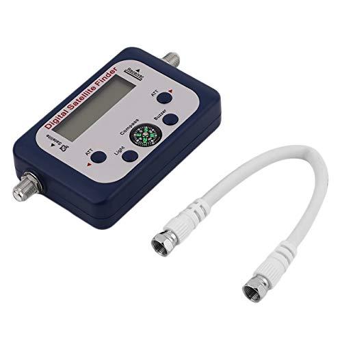 Dswe Buscador de satélite Digital GSF-9506 con Pantalla LCD Medidor de buscador de satélite de TV Universal Probador de buscador de señal de satélite