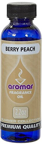 Aromar Aromatherapy spa Collection Essential Aromatic Fragrance Oil Berry Peach 2.2oz Made in USA