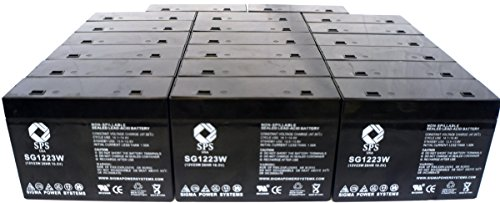 SPS Brand 1223W Replacement Battery for CSB HC1217W (50 Pack)