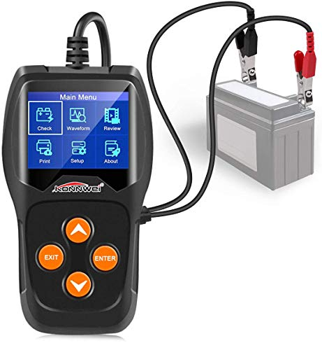 KW600 Tester per batteria automobilistica 12V...