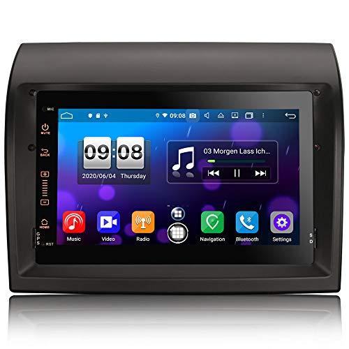 ERISIN 7 pollici Android 10.0 Autoradio per Fiat Ducato Citroen Jumper Peugeot Boxer Supporto Carplay Android Auto DSP GPS Navigatore satellitare Bluetooth Wifi 4G DAB + TPMS 4 GB RAM + 64 GB ROM