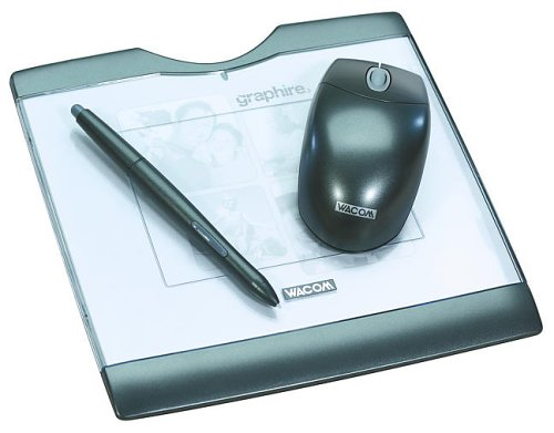 Wacom Graphire3 4x5 USB Tablet (Graphite Gray, CTE430GR)