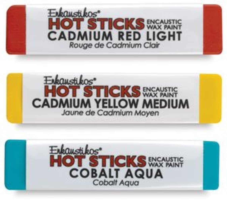Hot Sticks Encaustic Wax Paints - Mars Venetian Red