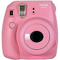 Fujifilm Instax Mini 9 - Cámara instantanea, solo cámara, Rosa Suave