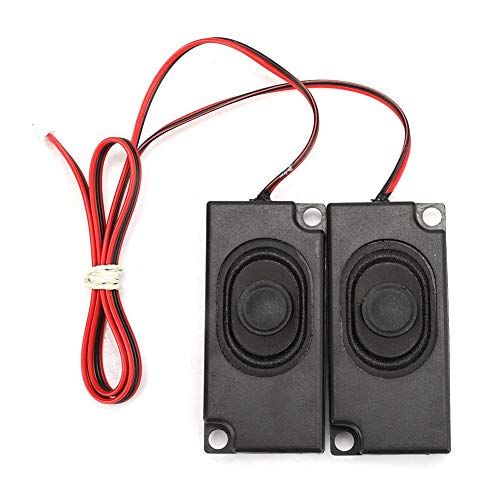 Read About Wendry Loudspeaker,8Ω 3W Portable Heavy Bass Audio Cavity Magnetic Dual Speaker Loudspea...