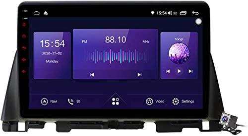Android 10 Autoradio 2 DIN Car Stereo Coche GPS Navegacion para KIA K5 Optima 2016-2019 Soporte Carplay Android Auto/Multimedia FM RDS DSP/Control Volante/Hands-Free Calls