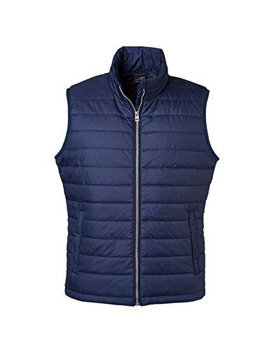 Men's Padded Vest in Navy Größe: 3XL