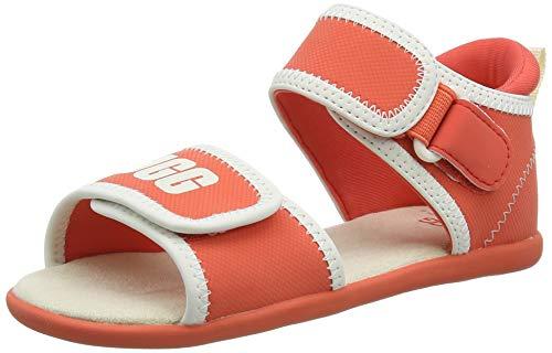 UGG Unisex-Kinder Delta Sandale, Pop Coral
