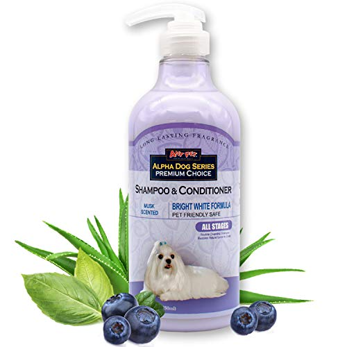 Alpha Dog Series White Conditioner and Shampoo