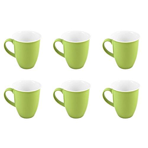 Ritzenhoff & Breker 6 Kaffeebecher 320ml Doppio grün - Flirt