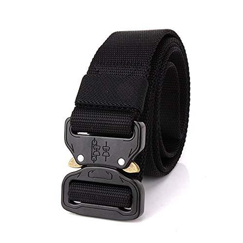 KNOSSOS Adjustable Nylon Waist Belt Tactical Belt Multifunction Outdoor Training Belt