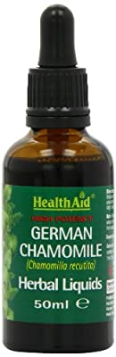 HealthAid Chamomile (Chamomilla recutita) Liquid 50ml by HealthAid