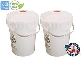 Best plastic pails food grade Reviews