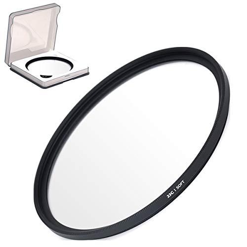 JJC 58mm Soft-Fokus-Filter mit Schutzfiltertasche für Canon, Nikon, Olympus, Fujifilm, DSLR-Kamera-Objektivfilter, Fotografie-Zubehör