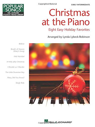 Christmas at the Piano: 8 Holiday Favorites Popular Songs Series