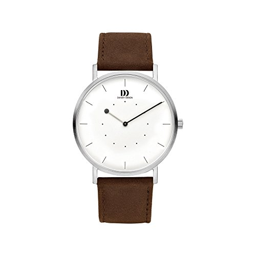 Danish Design IQ29Q1241 Analoog kwarts smartwatch polshorloge met lederen armband