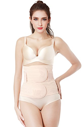 Postpartum Belly Wrap Girdle Recovery Support Belly Band Waist Trainer Belt Shapewear