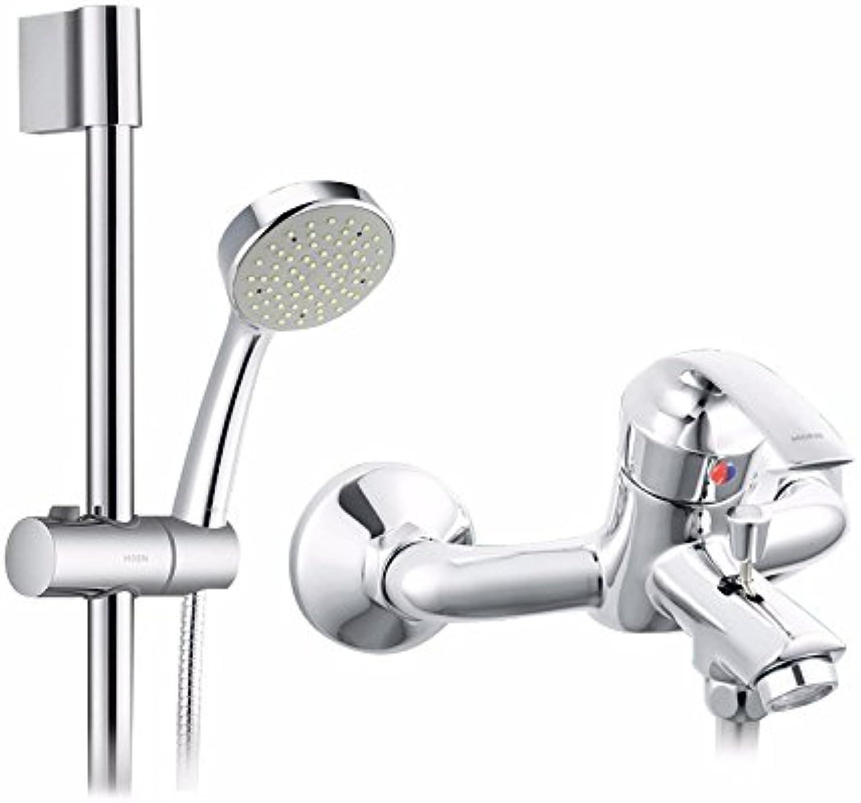 YFF@ILU Duschen Kit Full Messing tippen Dusche Regendusche Suite B