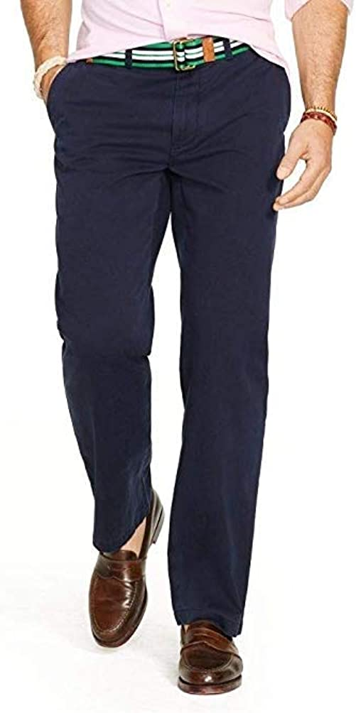 Ralph Lauren Mens Chino Casual Work Pants Relaxed Fit 40x30