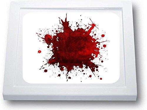 Anti Rutsch Aufkleber Dusche * Antirutschmatte Duschwanne * Blutfleck * Blut * (55 x 55 cm, Standard)