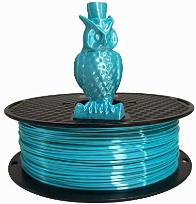 Silk Blue PLA Filament 1 75mm 3D Printer Filament 1KG 2 2 LBS Spool 3D Printing Materials CC3D product image