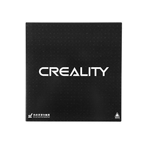 Aibecy Ultrabase Glass Plate Superficie de construcción autoadhesiva 310 * 310 mm para Creality CR-10 / CR-10S Impresora 3D Plataforma de cama con calefacción